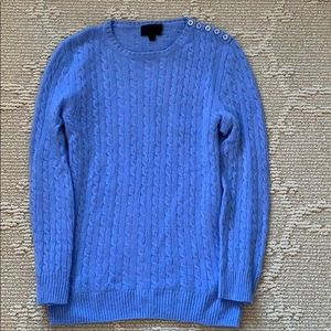 J. Crew Collection Cashmere Cable Knit Sweater